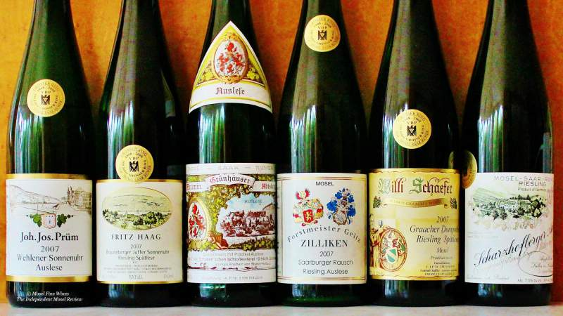 2007 Retrospective | Riesling | Mosel | Label