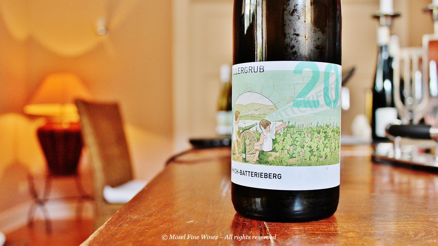 Weingut Immich-Batterieberg | Enkircher Ellergrub Riesling 2014 | Wine Label
