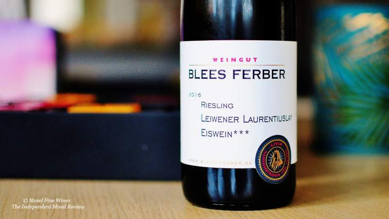 Weingut Blees-Ferber | Laurentiuslay | Eiswein | Label