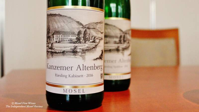Weingut von Othegraven | Kanzemer Altenberg Kabinett Auction | Label