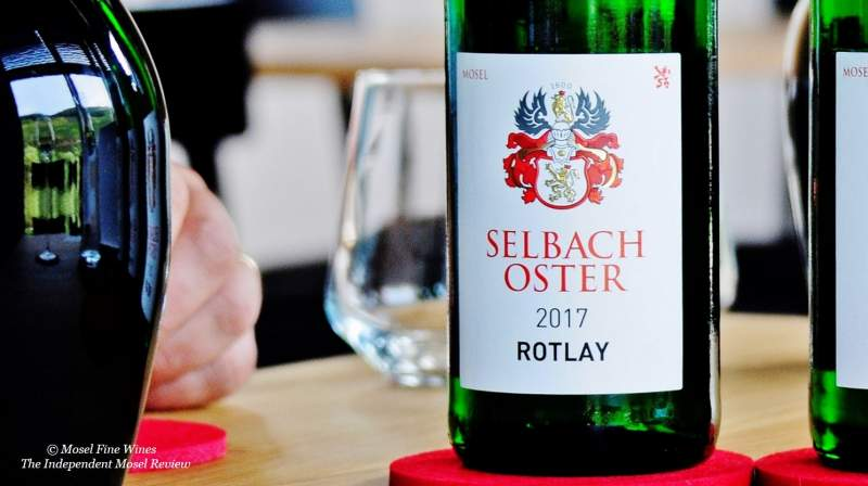 Weingut Selbach-Oster | 2017er Zeltinger Sonnenuhr Riesling Auslese Rotlay | Label