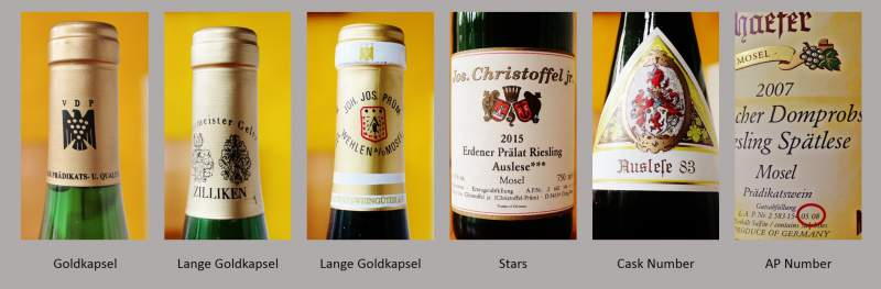 German Wine Label | Understanding | Goldkapsel | Auslese ***