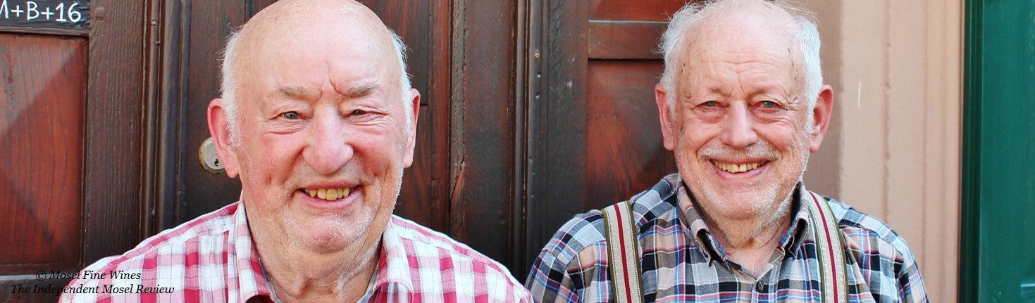 Alfred and Rolf Merkelbach | Weingut Alfred Merkelbach | Picture | Mosel Wine