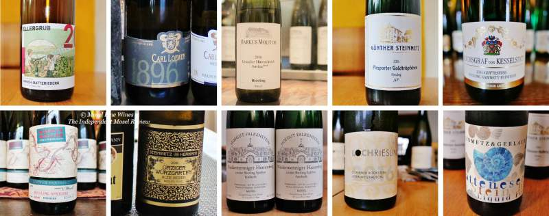 2016 Vintage | Mosel | Off-Dry Riesling | Wines